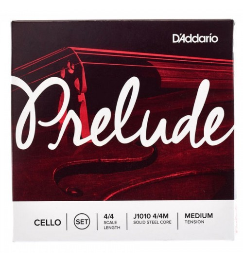 Daddario Prelude J1010M Set Çello Teli J1010