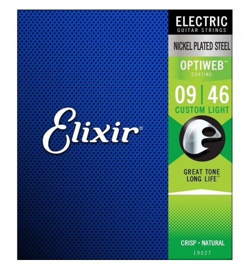 Elixir 009-046 Optiweb Elektro Gitar Teli 19027