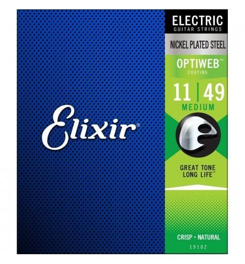 Elixir 011-049 Optiweb Elektro Gitar Teli 19102