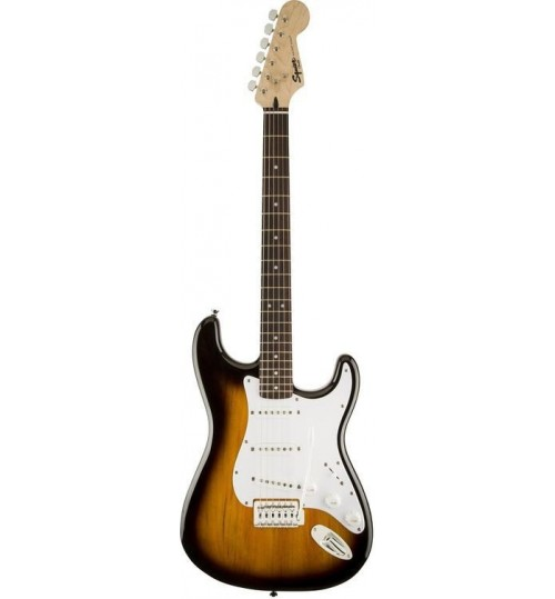 Fender Squier Bullet Strat with Tremolo Laurel Klavye Brown Sunburst Elektro Gitar 0370001532