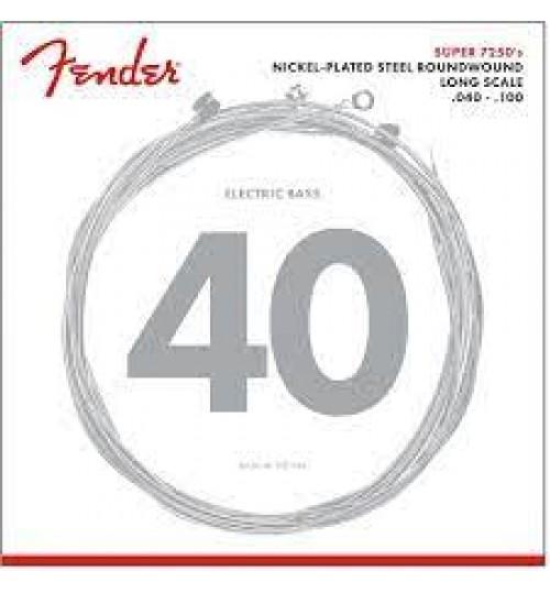 Fender 7250 NPS 7250L 40-100 Bass Gitar Teli 0737250403