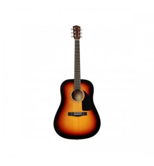 Fender CD-60WN Dreadnaught Ceviz Klavye Sunburst Akustik Gitar  0970110532
