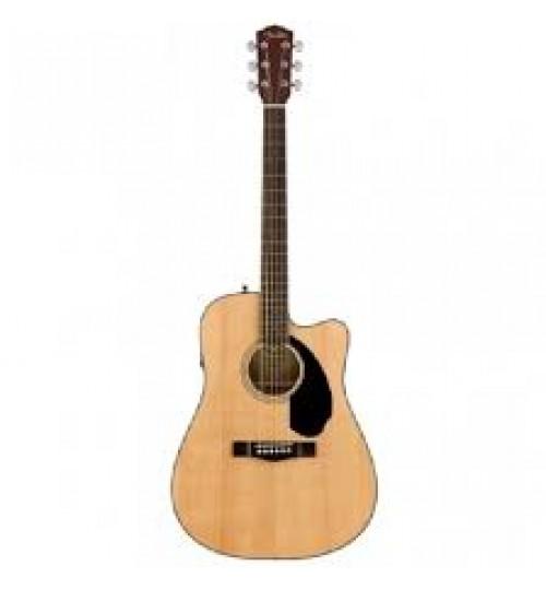 Fender CD-60SCE Ceviz Klavye Natural Elektro Akustik Gitar 0970113021