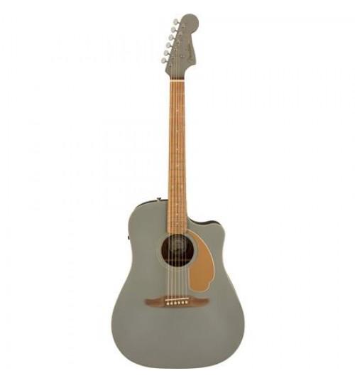 Fender Redondo Player Ceviz Klavye Slate Satin Elektro Akustik Gitar 0970713543