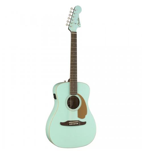 Fender Malibu Player Cevizağacı Klavye Aqua Splash Elektro Akustik Gitar 0970722008
