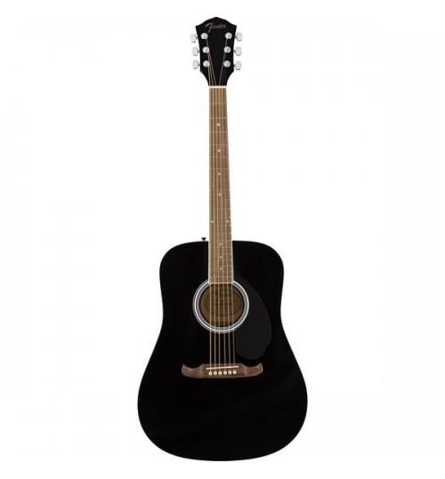 Fender FA-125 Dreadnought Ceviz Klavye Black Akustik Gitar 0971210706