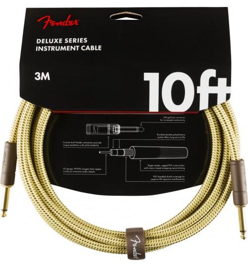 Fender Deluxe  Straight/Straight 10 Tweed 3 metre Enstruman Kablosu 0990820089