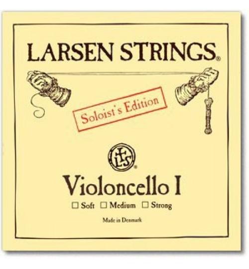 Larsen Soloist A ( La ) Soft Tek Çello Teli 639413