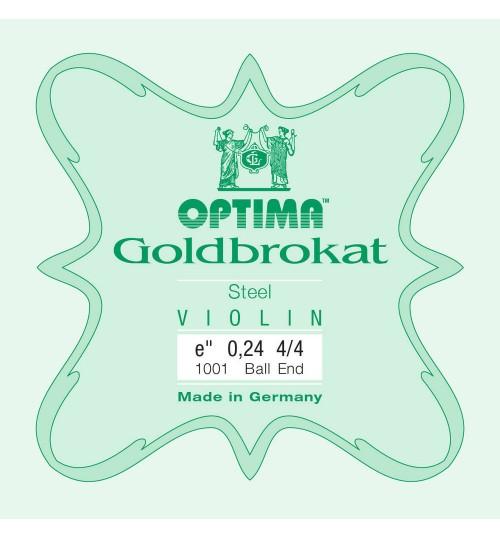Optima Goldbrokat 0.26mm E ( Mi ) Tek Keman Teli 631525