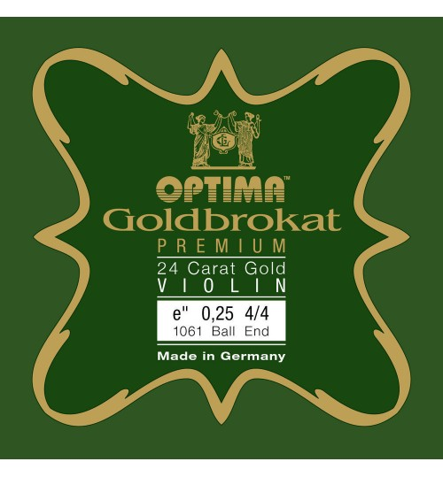 Optima Goldbrokat Premium 24 Karat Altın E ( Mi ) Tek Keman Teli  631745