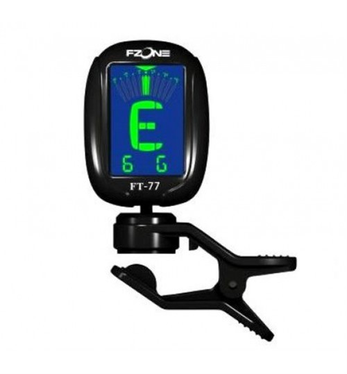 Fzone Chromatic -Gitar - Violin Clip Tuner FT77