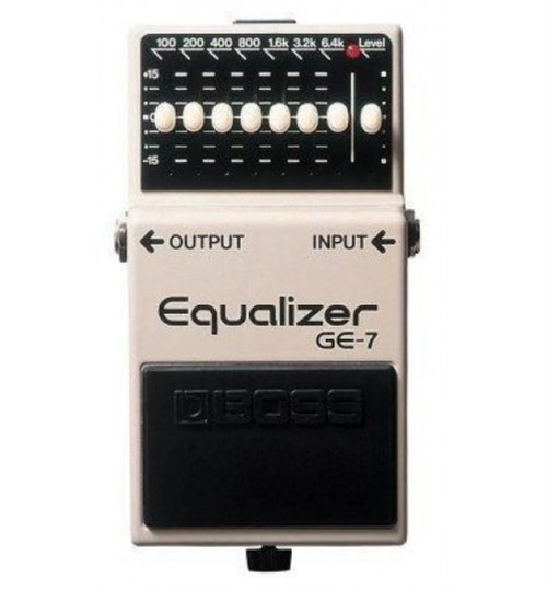 Boss GE-7 (T) 7 Band Graphic Gitar Efekt Pedal