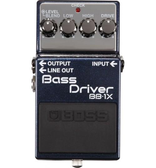 Boss BB-1X Bass Gitar Drive Pedalı