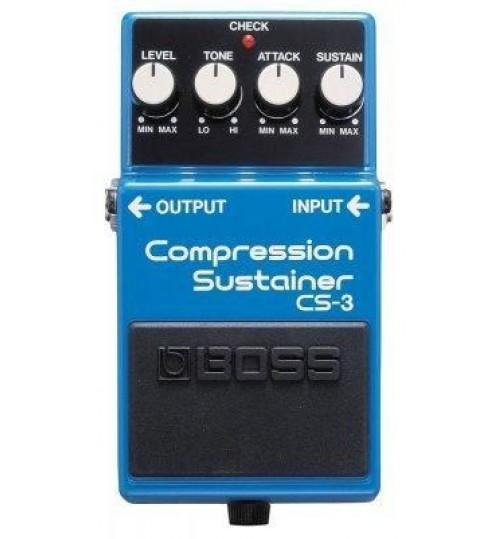 Boss CS-3 Compression Sustainer Gitar Efekt Pedal