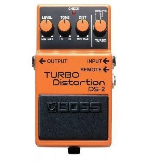 Boss DS-2 (T) Turbo Distortion Efekt Peda