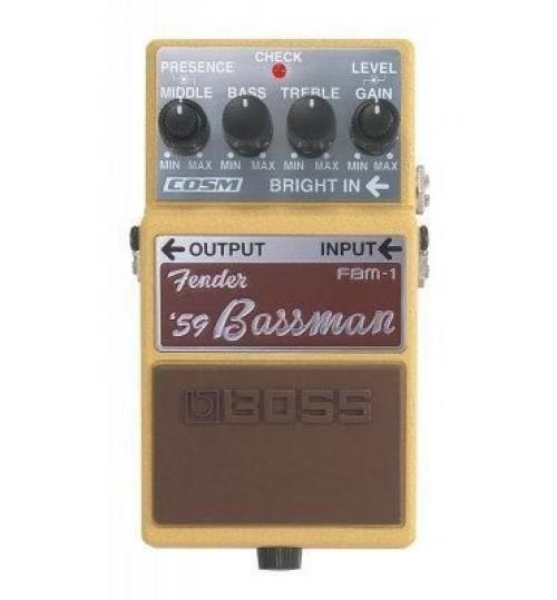 Boss FBM-1 Fender Legend Bassman Bass Gitar Efekt Pedal