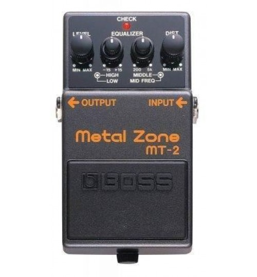 Boss MT-2(T) Metal Zone Gitar Efekt Pedal
