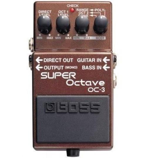 Boss OC-3 Super Octave Gitar Efekt Pedal