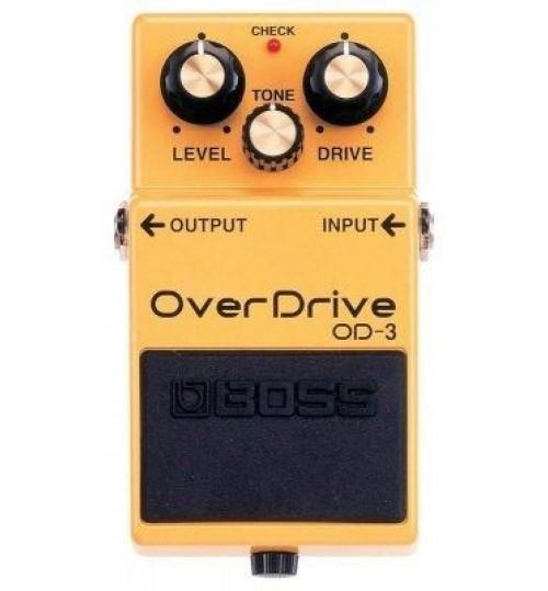 Boss OD-3 (T) Turbo Overdrive Gitar Efekt Pedal
