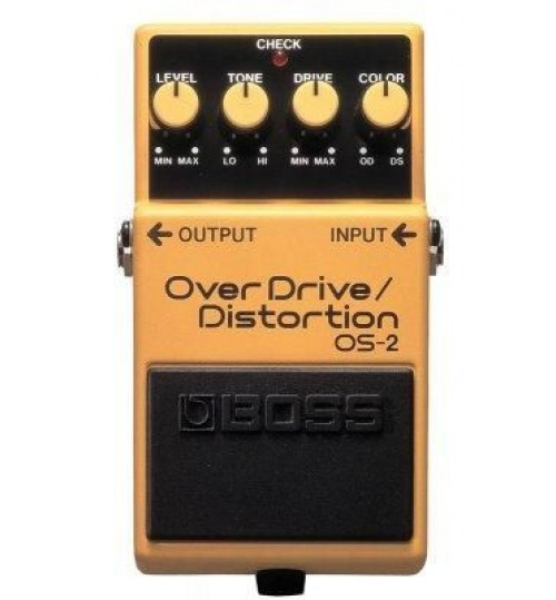 Boss OS-2 (T) Overdrive Distortion Gitar Efekt Pedal