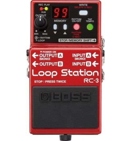 Boss RC-3(T) Looper Pedalı