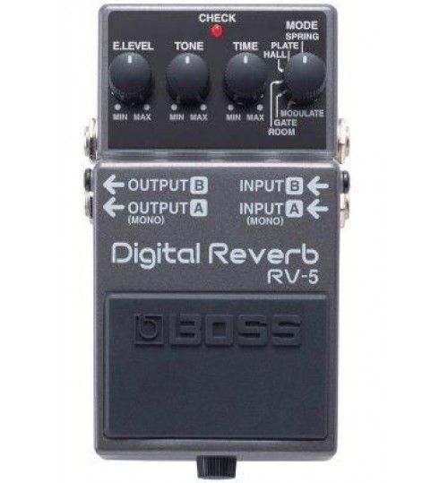 Boss RV-5(T) Digital Reverb Compact Pedal