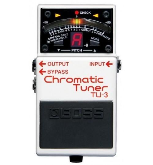 Boss TU-3 Chromatic Tuner Gitar Efekt Pedal