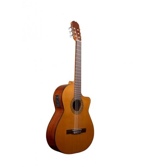 Alvaro No: 39E Cutaway Elektro Klasik Gitar ALV0540EC