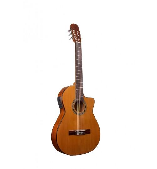 Alvaro No:39EC Thın Body Elektro Klasik Gitar ALV0540ECT
