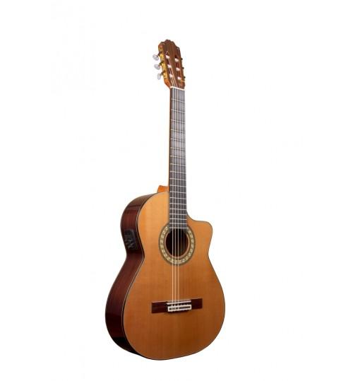 Alvaro No:410 Ec Cutaway Elektro Klasik Gitar ALV1050EC