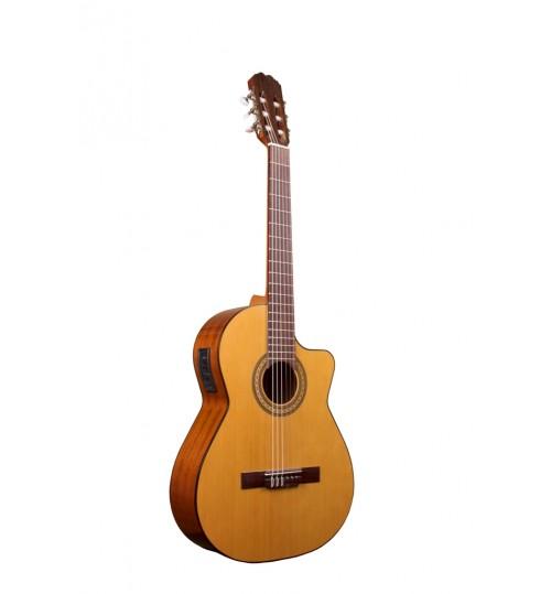 Alvaro No: 800EC Cutaway Elektro Klasik Gitar ALV0510EC