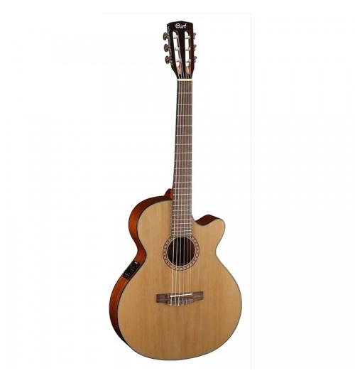 Cort CEC5 Natural Maun Elektro Klasik Gitar