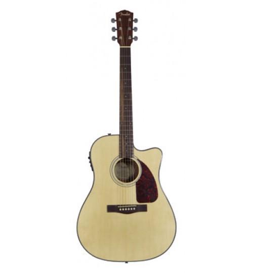 Fender Cutaway Natural Elektro Akustik Gitar CD 140SCE 0961516021