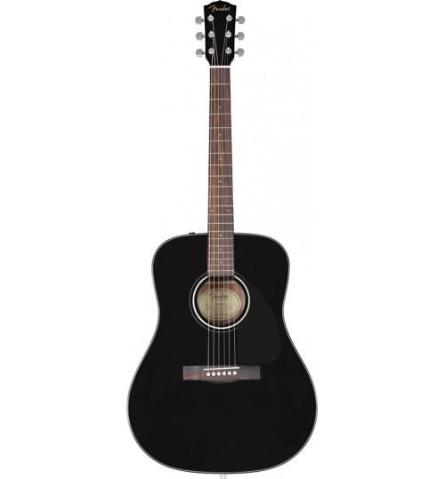Fender Siyah Akustik Gitar CD-60 0961545006