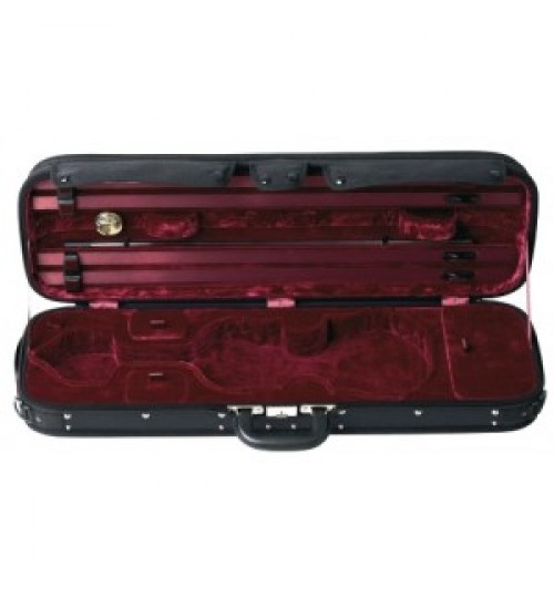 Gewa Maestro Siyah/Kırmızı Keman Kutusu 309510