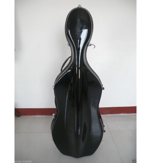 Picaldi Siyah Karbonfiber Çello Kutusu CSC801C-BLACK