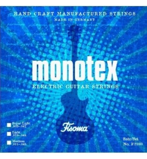 Lenzner Fisoma Monotex 0.09 E ( Mi ) Elektro Gitar Tek Teli F2201 SL