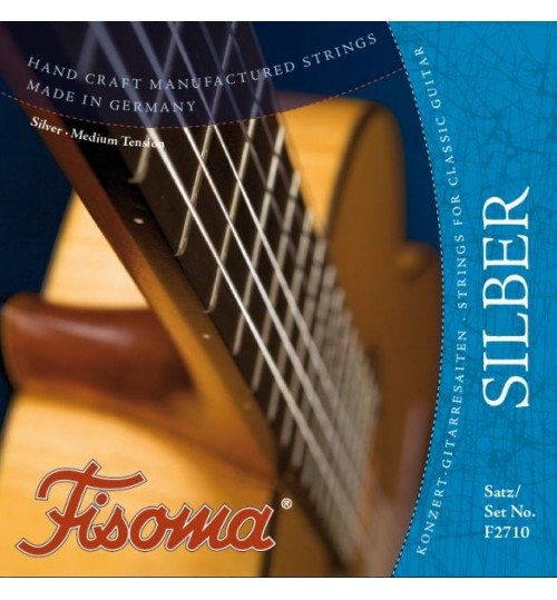 Lenzner Fisoma Konzert Silver Klasik Gitar Teli F2710
