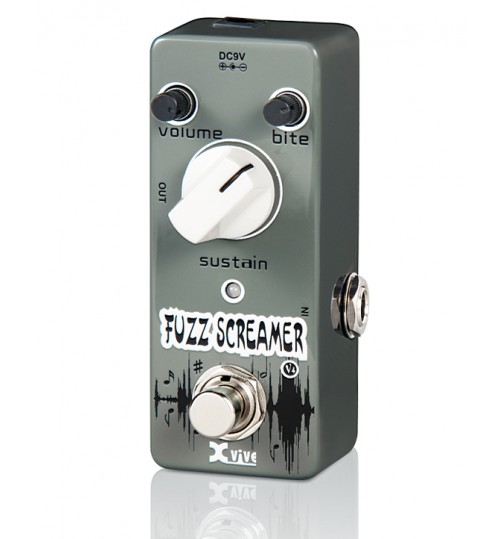 Fzone V4 Fuzz Screamer Gitar Efekt Pedal