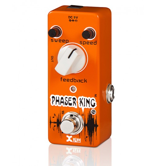 Fzone V6 Phaser King Gitar Efekt Pedal