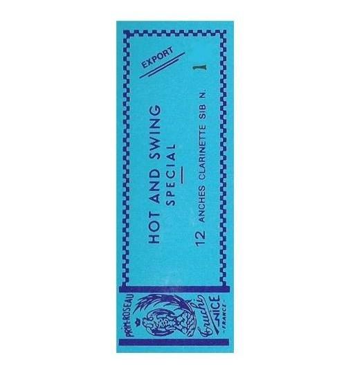 Rigotti Mavi Kuşak 1 Numara Klarnet Kamışı HAS. CL. 1