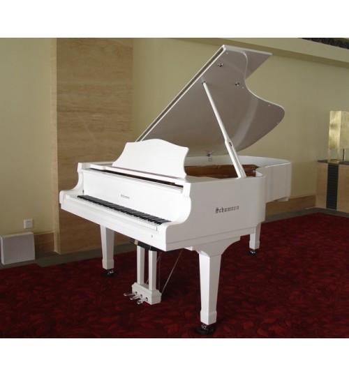 Schumann 152cm Çeyrek Kuyruklu Beyaz Akustik Piyano GP-152 WHITE
