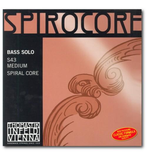 Thomastik Spirocore Solo Set Kontrabass Teli S43