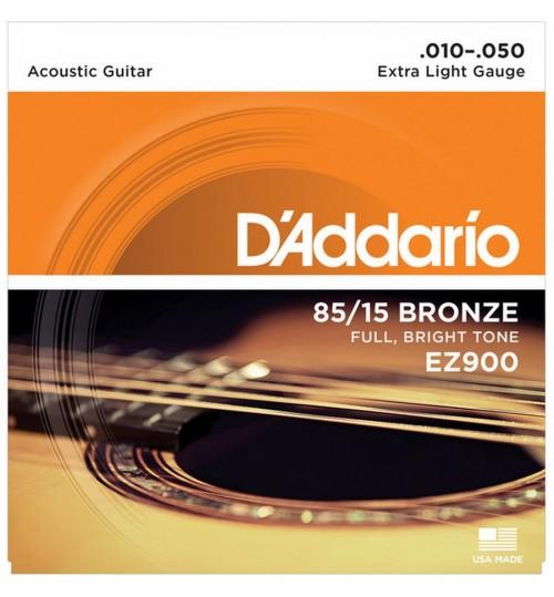 D'addario Akustik Gitar Teli 010 EZ900