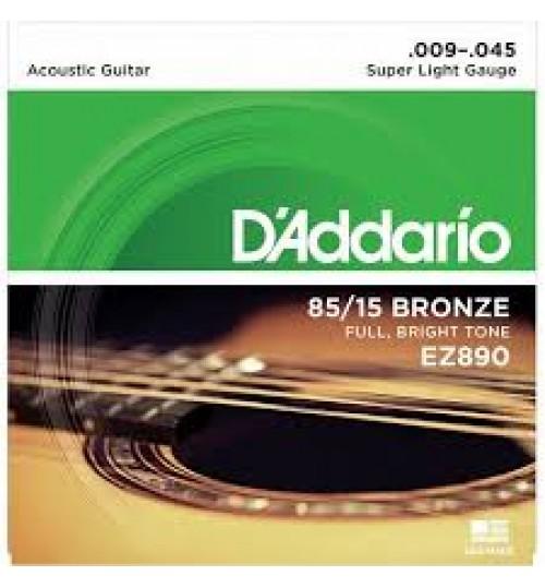 D'addario Akustik Gitar Teli 009 EZ890