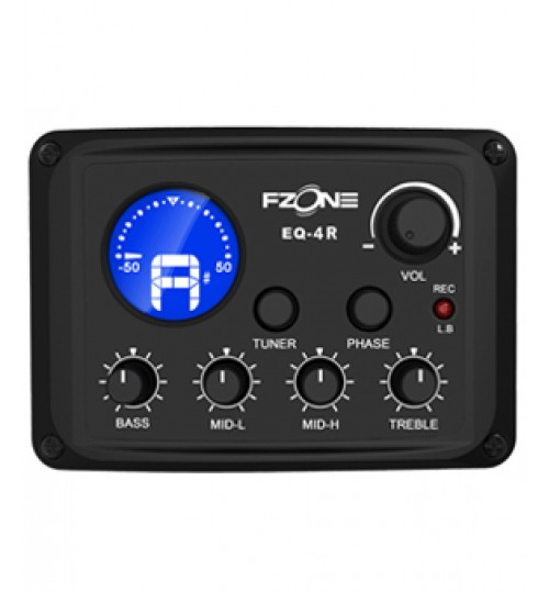 Fzone Fishman 4 Band EQ Tuner Usb