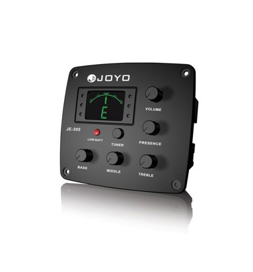 Joyo Fishman Bağlama 4 Band EQ + Tuner JE-305