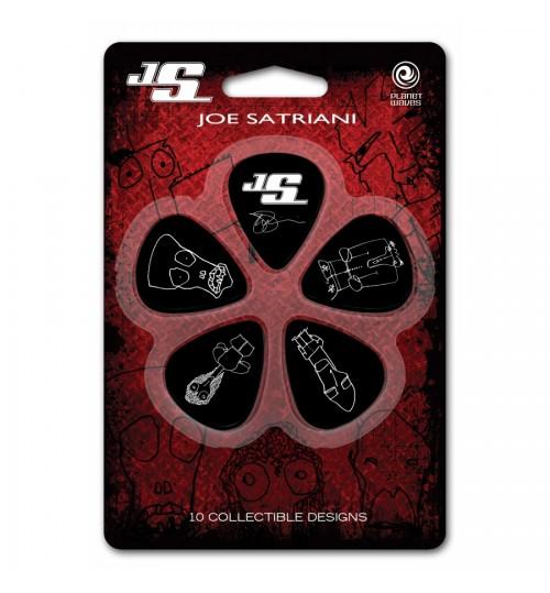 Joe Satriani Thin 10 Adet Pena 1CBK2-10JS