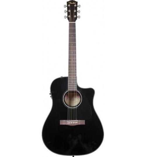 Fender Cutaway Spruce Top Nato Back/Sı Siyah Elektro Akustik Gitar CD-60CE 0961542006