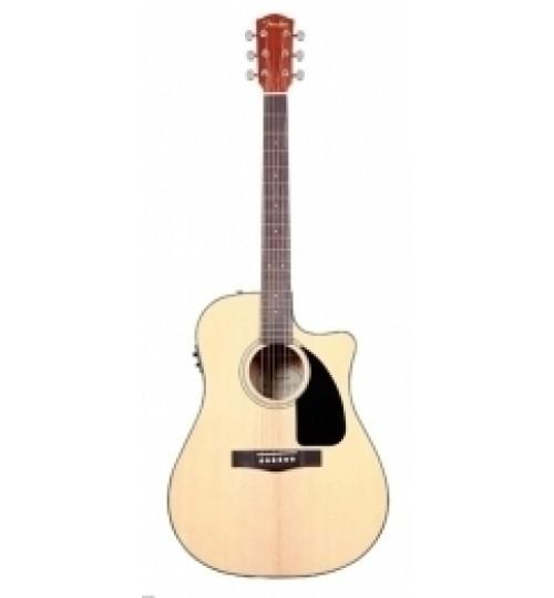 Fender Natural Cutaway Spruce Nato Bac Elektro Akustik Gitar CD-60CE 0961542021